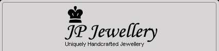 JP Jewellery Logo. Uniquely Hand Crafted Jewellery